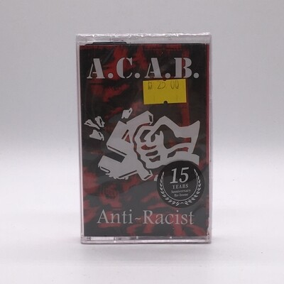 ACAB -ANTI RACIST- CASSETTE