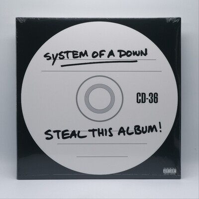 SYSTEM OF A DOWN -STEAL THIS ALBUM- 2XLP