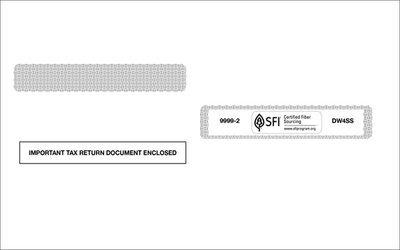 W2 Self-Seal Envelope #9999-2 (Set of 100)