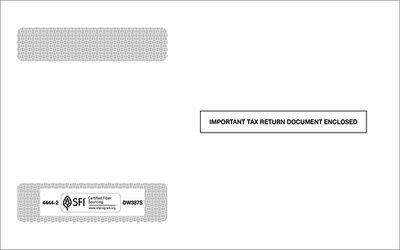 W2 Self-Seal Envelope #4444-2 (Set of 100)