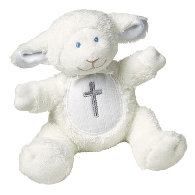 Christening Lamb (W/Rattle) #56630
