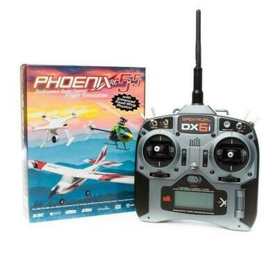 Phoenix R/C Pro Simulator V5.5 with DX6i Transmitter (RTM55R6630)