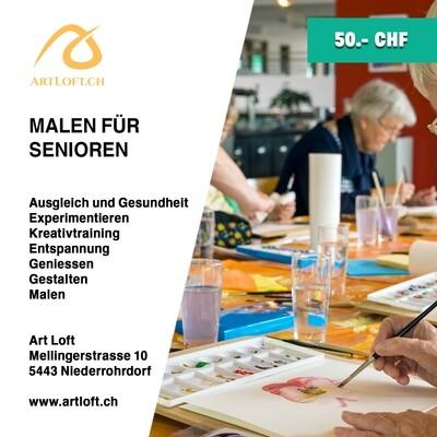 Malen für Senioren