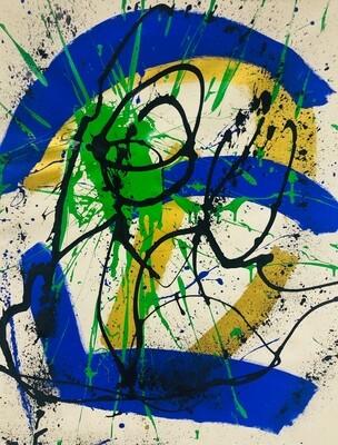 Untitled - Royal Abstract Series