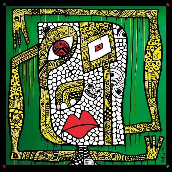 Seidenschal Strange Harmony - Limited Edition 100 Stück