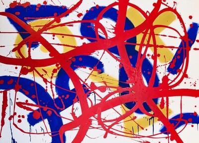 Untitled Royal Abstract