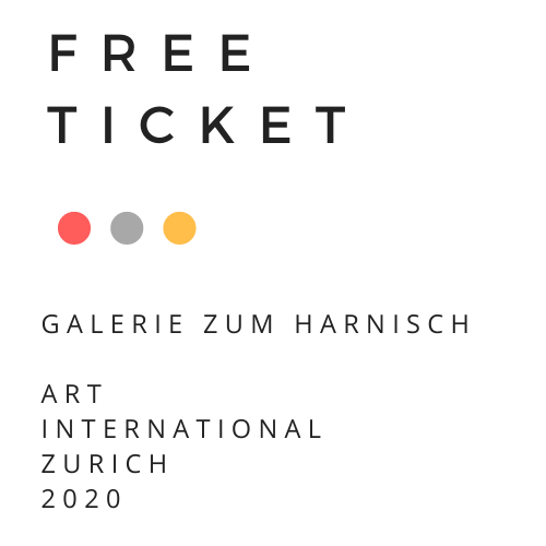 TICKET FÜR 2 PERSONEN ART INTERNATIONAL ZURICH 2020 UND BESUCHEN SIE UNSEREN STAND!