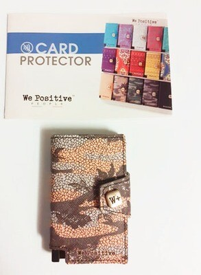 Card Protector CAMOUFLAGE - We Positive