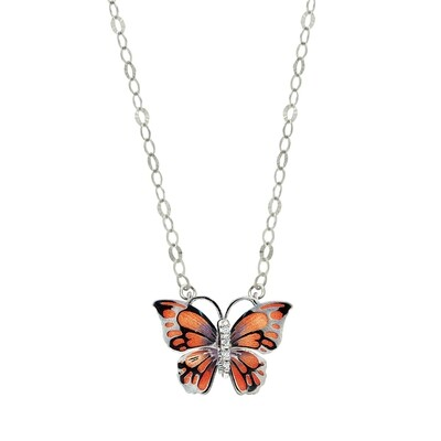 collana  Butterfly  argento 925
