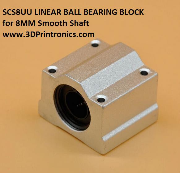 SCS8UU - Linear Ball Bearing Block for CNC/3D Printers