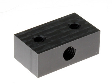 Derlin Nut Block (for 8mm threaded rod)