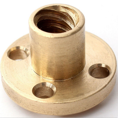 Brass Nut for 10mm Tr Leadscrew