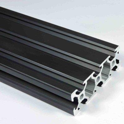 V Slot Aluminium Extrusion 2060(Black)