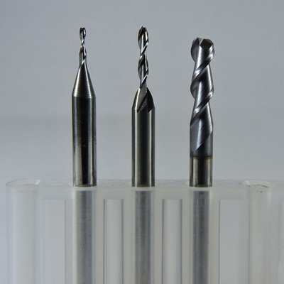 Solid Carbide Upcut Fish Tail Spiral Bits
