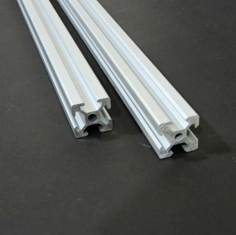 V Slot Aluminium Extrusion 2020 (Silver)