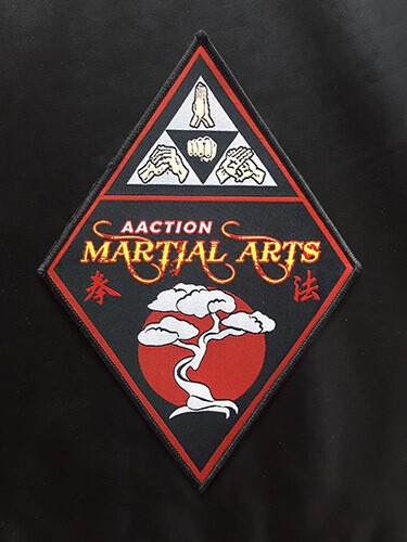 Aaction Martial Arts Patch