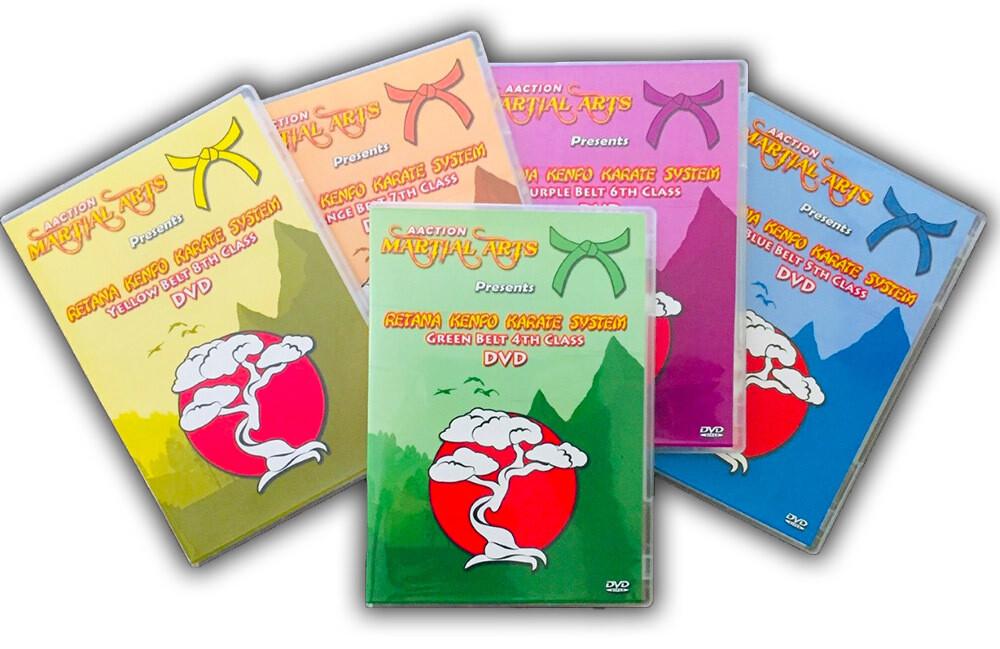 Yellow thru Green 5 DVD Bundle ($25 OFF!)