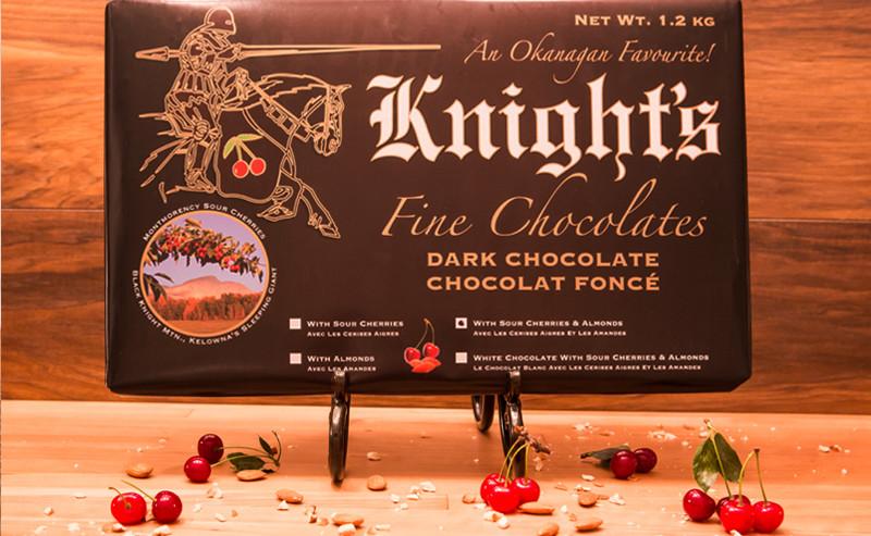 Dark Chocolate with Almonds & Cherries