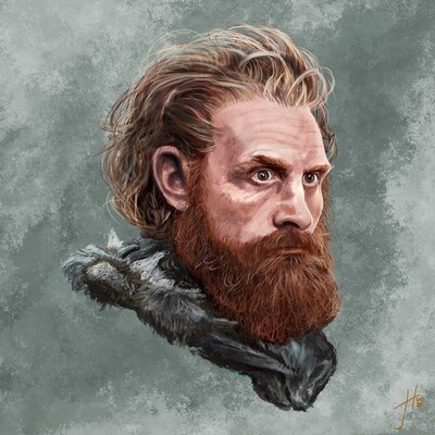 Game of Thrones Beric Dondarrion Art Print