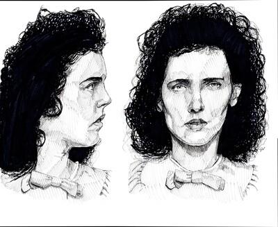 Black Dahlia Elizabeth Short Art Print