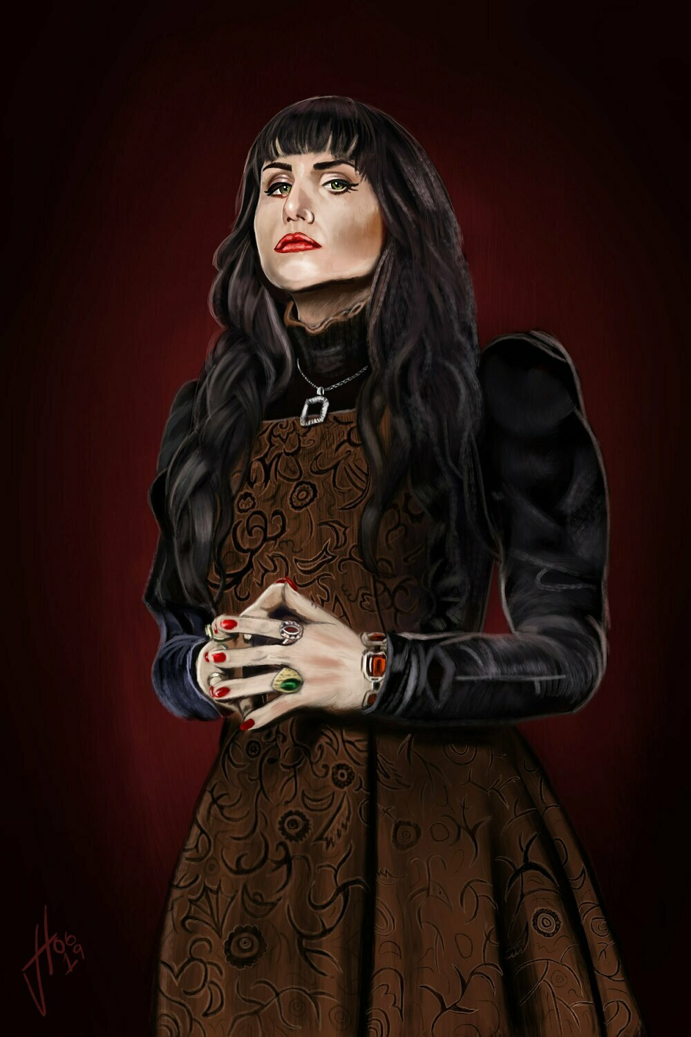 What We Do In the Shadows Nadja Art Print