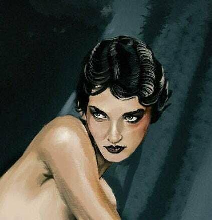 Paula Bulczynska Art Print NSFW