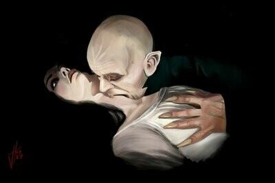 Nosferatu Klaus Kinski Art Print