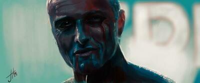 Blade Runner Tears in Rain Print