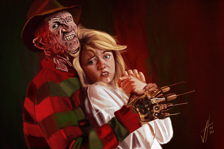 A Nightmare on Elm Street Art Print Freddy Krueger