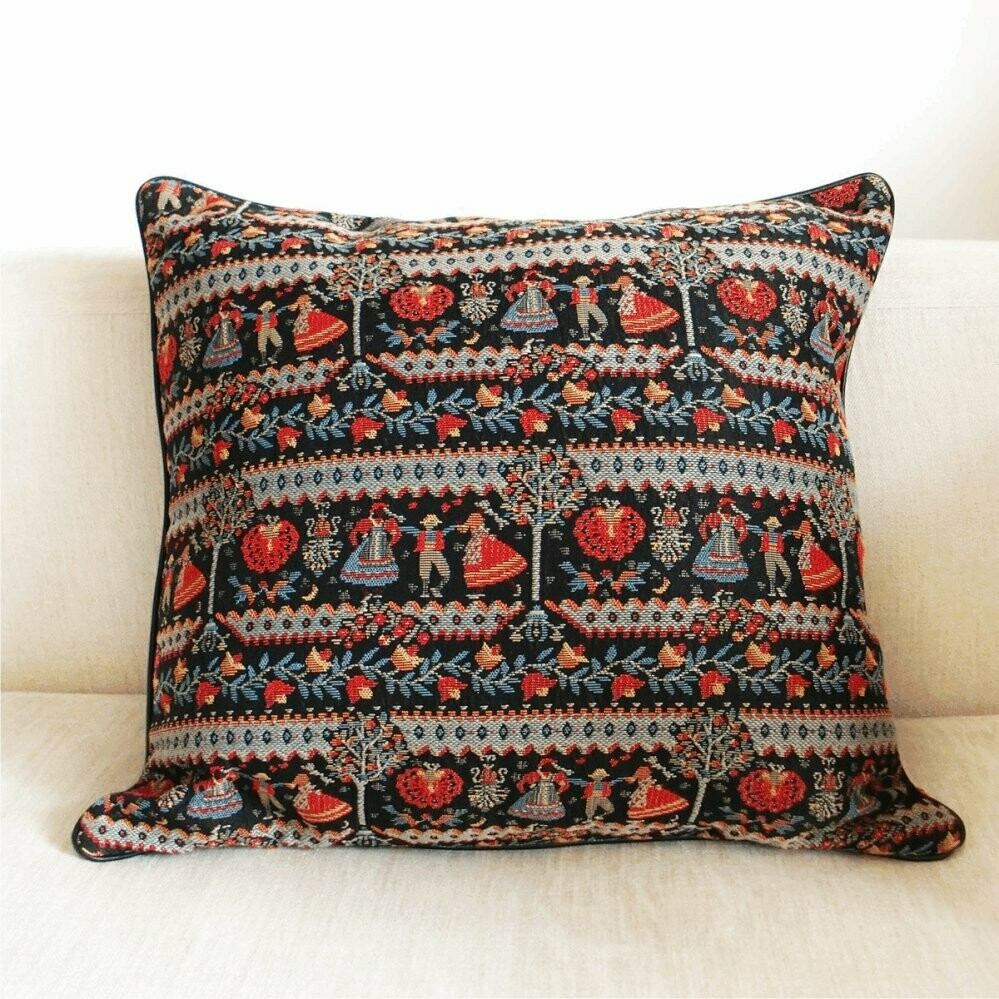 Folk style Cushion cover-Pillow Cover
