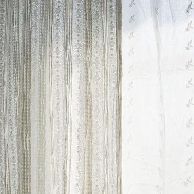 Lace curtains-Cotton-W55