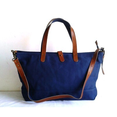 BLUE BOAT TOTE-Free Shipping