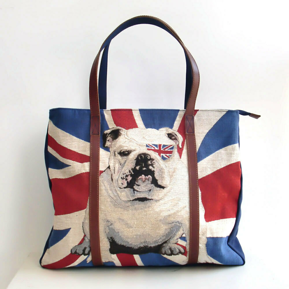 Canvas Tote bag With Genuine Leather Strap