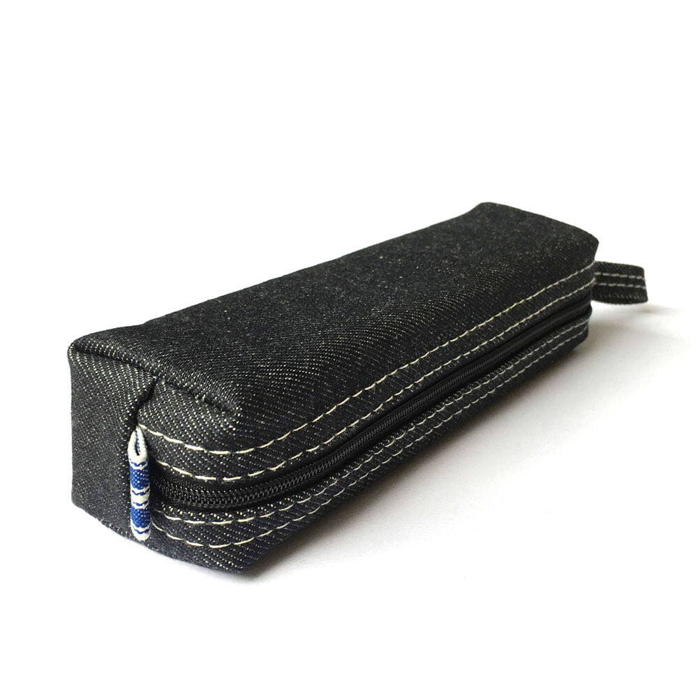 Denim Pencil Case