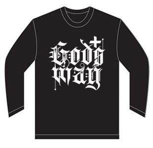 Black GODS+WAY Long Sleeve Shirt