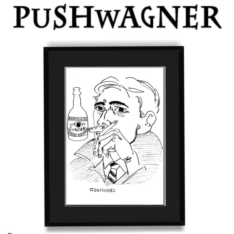 """Sigmund"" PUSHWAGNER (Nedsatt Pris)"