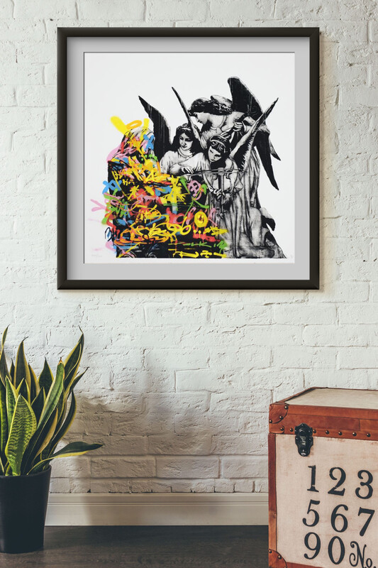 DOLK - ANGELS - Gatekunstner Fra Bergen