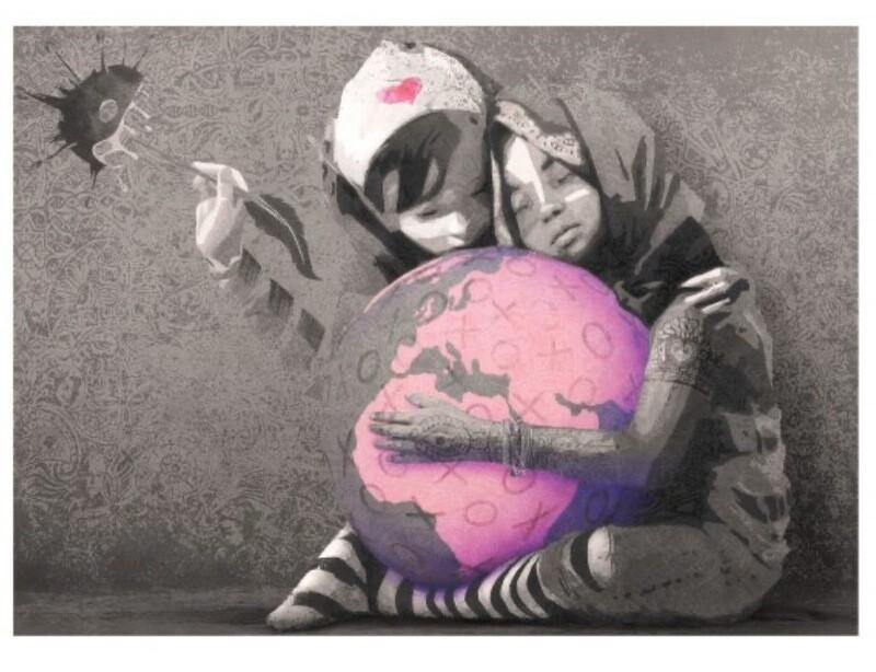 COMING SOON - Regular 50x70cm. Hug The World - Main Ed