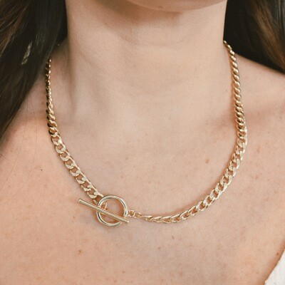 Gold Toggle Chain