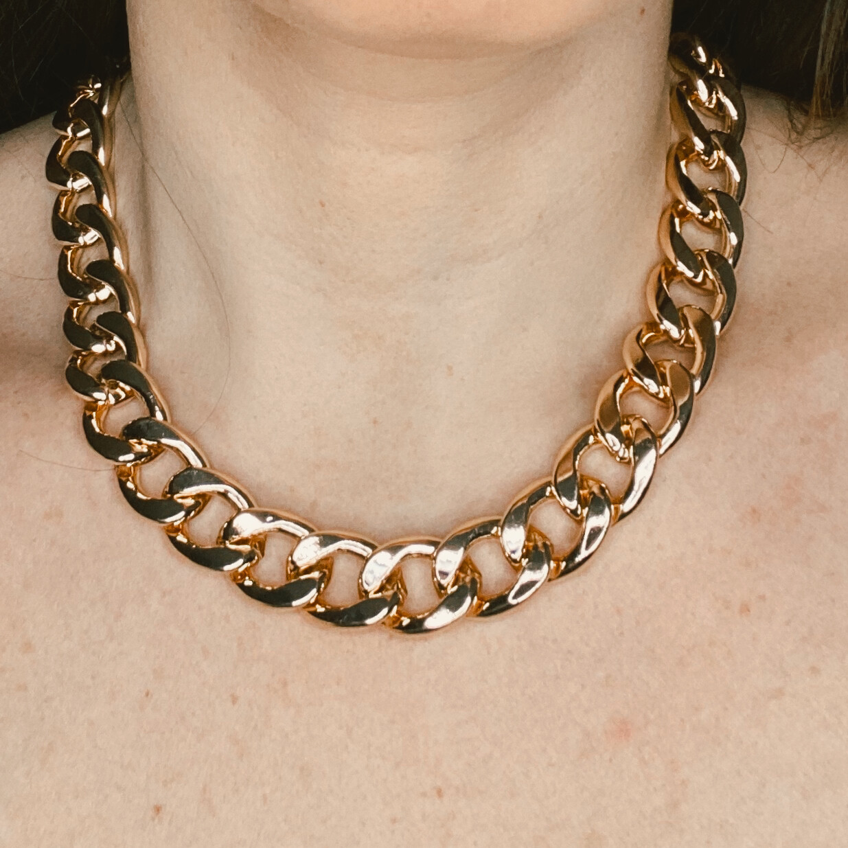 Bulky Chain Necklace