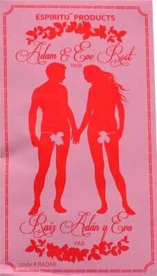 Adam & Eve Root in envelope