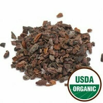 Cacao nibs, raw 1 oz