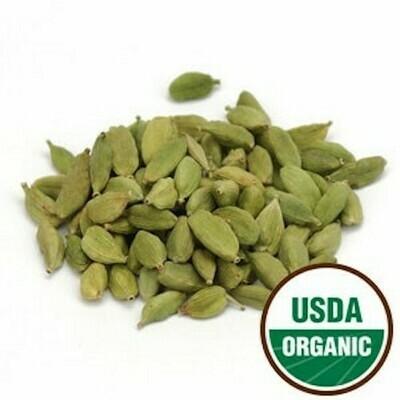 Cardamom Pods, Organic, whole 1 oz