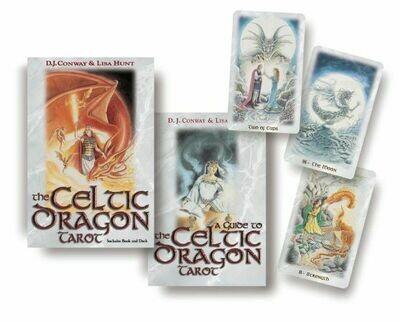 Celtic Dragon tarot kit
