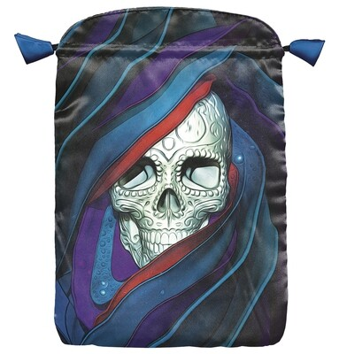 Santa Muerte Skull Bag