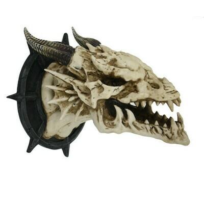 Dragon Skull Plaque