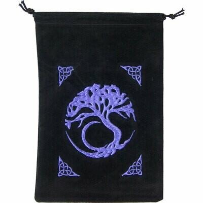 Velvet Bag Tree of Life