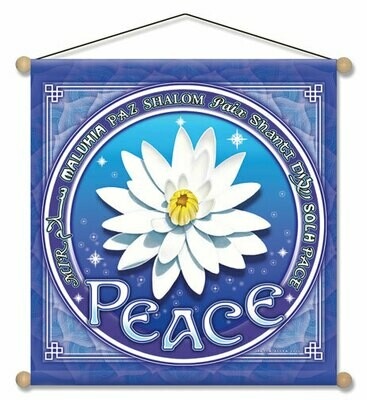 Lotus of peace med banner
