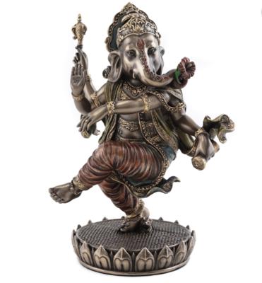 Dancing ganesh statue med