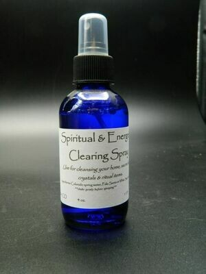 Spiritual and Energetic Clearing Spray 4 oz